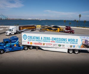 Toyota Shows Off The Latest Fuel Cell Electric Heavy Duty Truck Today!