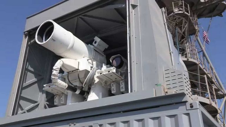 US Navy Tested Its Laser Weapon System (LaWS) In This Video!