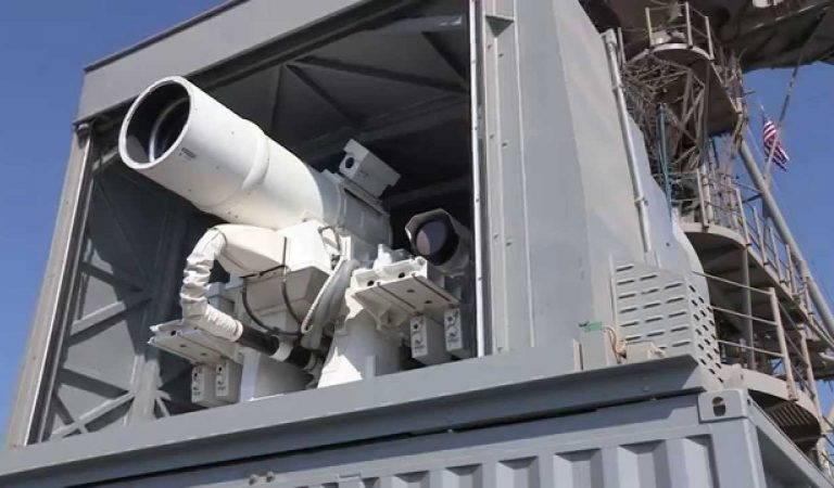 Watch US Navy Test It's New Laser Weapon System In This Video