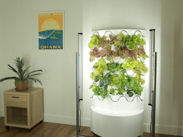 iHarvest By IGWorkds Is A Vertical Garden For Your Living Space!