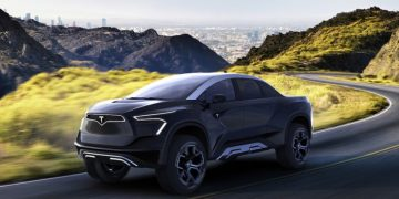 Check Out Concept Of Tesla Electric Pickup Truck By Emre Husmen!