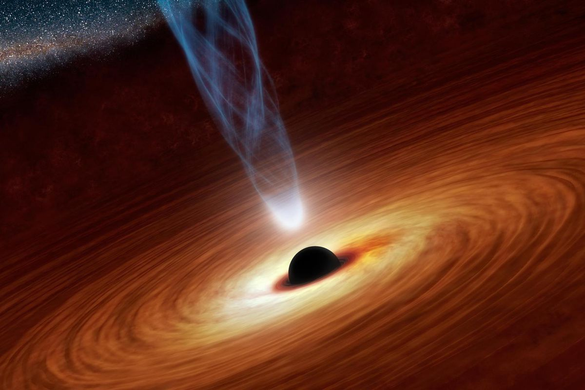 First Picture Of A Black Hole Is On Its Way From Event Horizon Team!