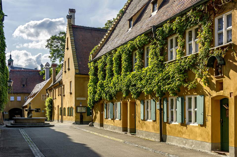 Fuggerei Is The German Housing Complex That Charges $1 For Rent!