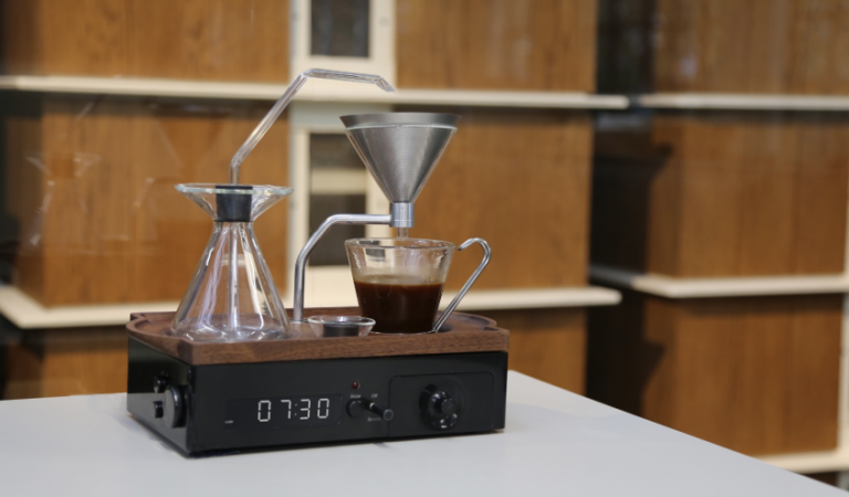 This Alarm Clock Wakes You Up With A Freshly Brewed Cup Of Coffee