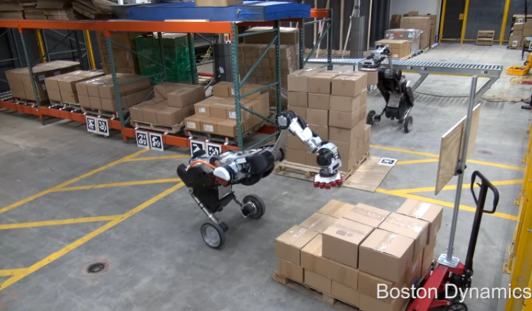 Watch Boston Dynamics' New Birdlike Robot Pick Weights Effortlessly