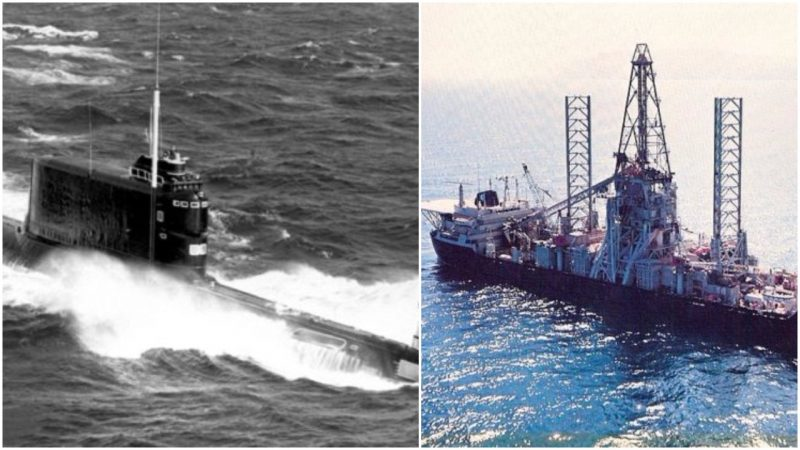 Glomar Explorer Was The USA's Attempt To Raise K-129!