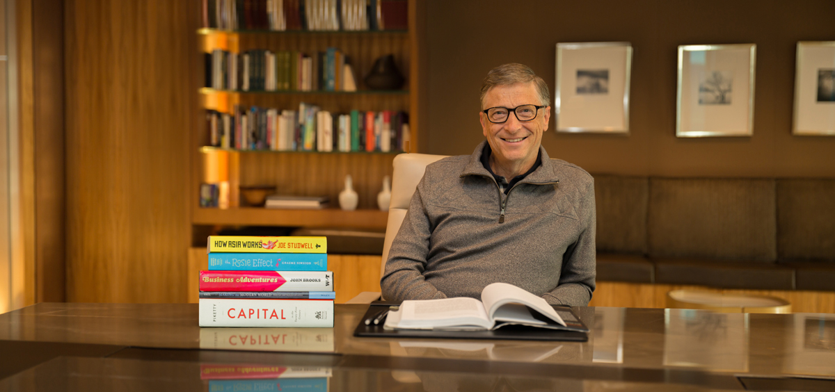 This Is How Bill Gates Remembers About What He Has Read!