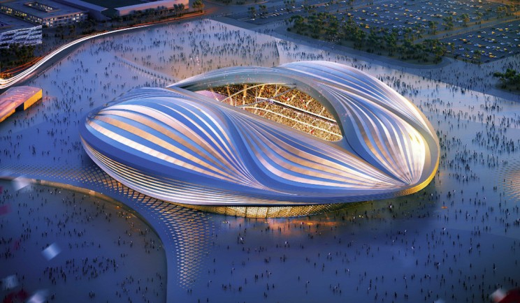 Al Wakrah Stadium For Qatar 2022 World Cup Has A Peculiar Design