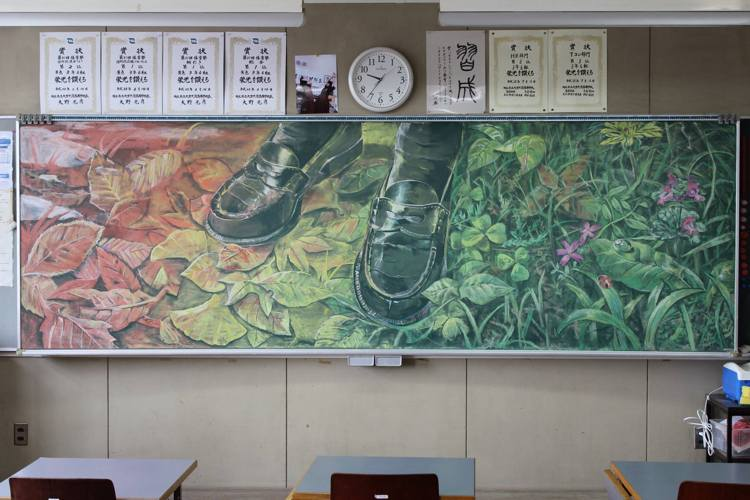 Blackboard Art Is A Real Thing And A Trend In Japan!