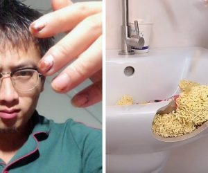 Chinese DIY Enthusiast, Xiubandrng, Uses Food For Repairing Items!