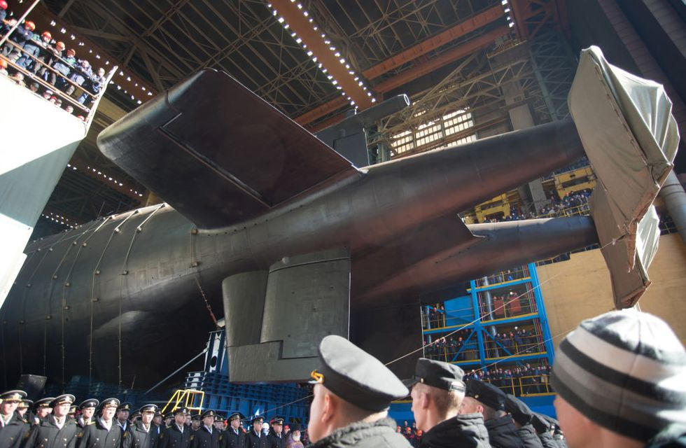 The World's Longest Submarine, Belgorod, Has Been Launched By Russia