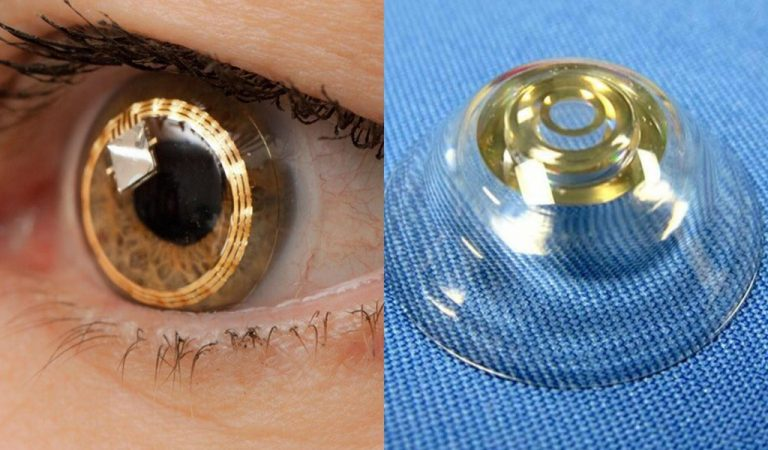 These Telescopic Eye Lenses Can Zoom In & Out If You Wink