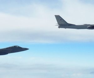 Russian Bombers Were Intercepted By US Air Force F-22 Jets On Monday
