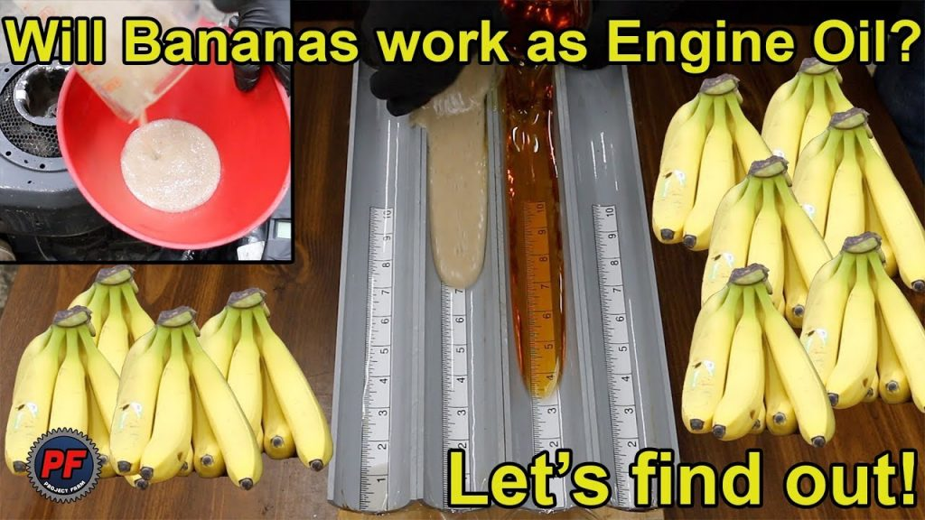 Bananas Were Used As Engine Oil In Citroen 2CV – Does It Work?
