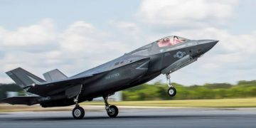 F-35 Joint Strike Fighter Goes Down After Colliding With A Bird