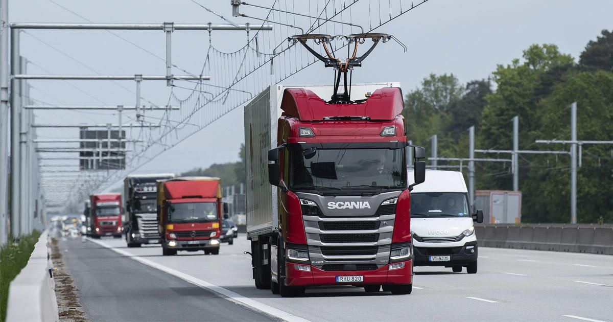 The First eHighway For Trucks Has Been Opened In Germany