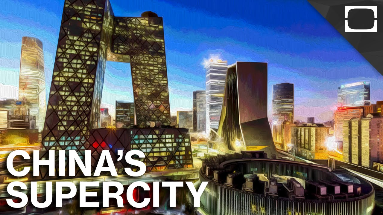China Is Busy Building A Mega-City That Will Generate $2 Trillion