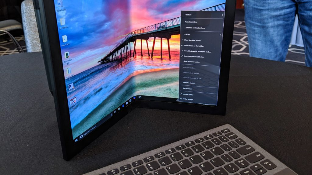 Lenovo Has Shown Off The World's Foldable PC At Accelerate Event