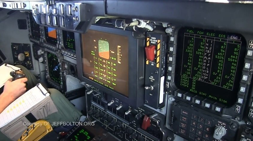 The Cockpit of Top-Secret B-2 Stealth Bomber Shown For The First Time!