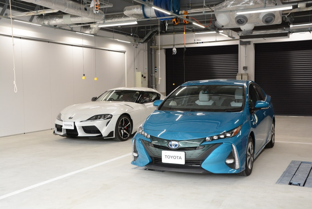 Toyota Technical Center Shimoyama Has One Section Up And Running!