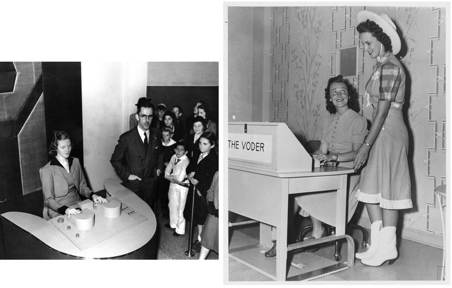 VODER Was The World's First Machine That Could Synthesize Speech