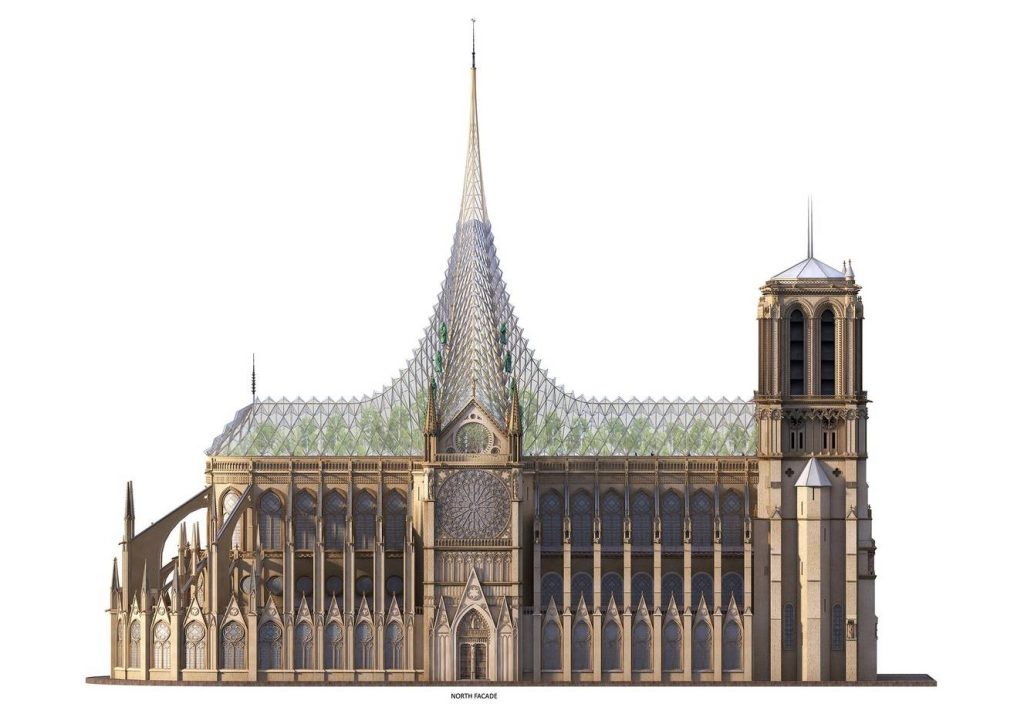 Vincent Callebaut Architectures Brings Solar Power To Notre Dame