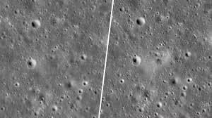 NASA Photographed The Crash Site Of SpaceIL's Beresheet