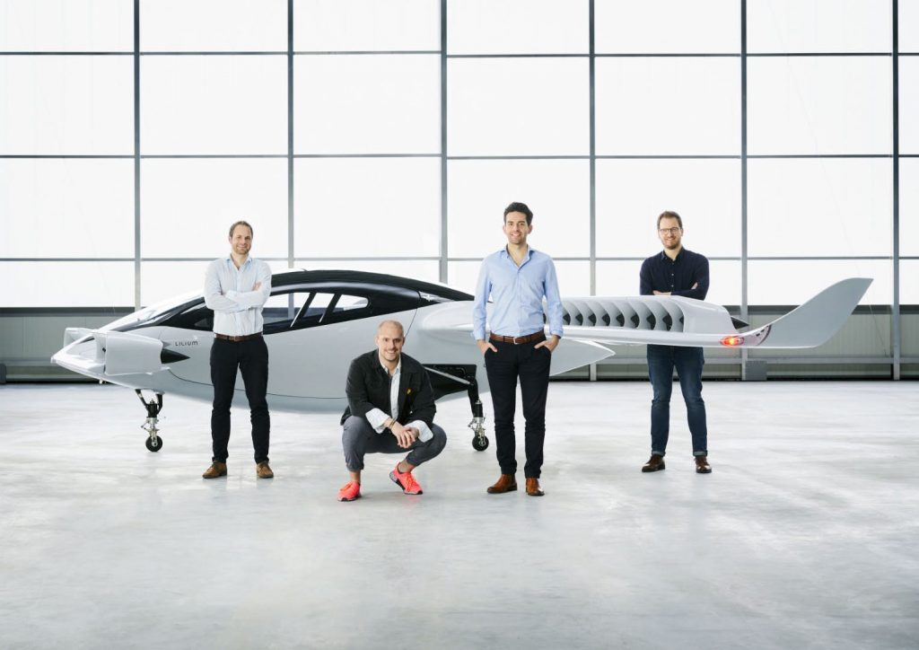 The Full-Size Electric Jet By German Startup Lilium Takes Flight!