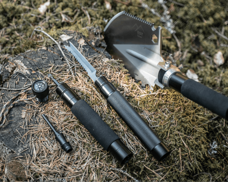 EST Shovel Features 18 Tools And Is A Modular Next-Gen Shovel