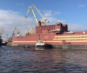Akademik Lomonosov Is The First Floating Nuclear Power Plant