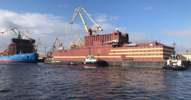Akademik Lomonosov Is The First Floating Nuclear Power Plant