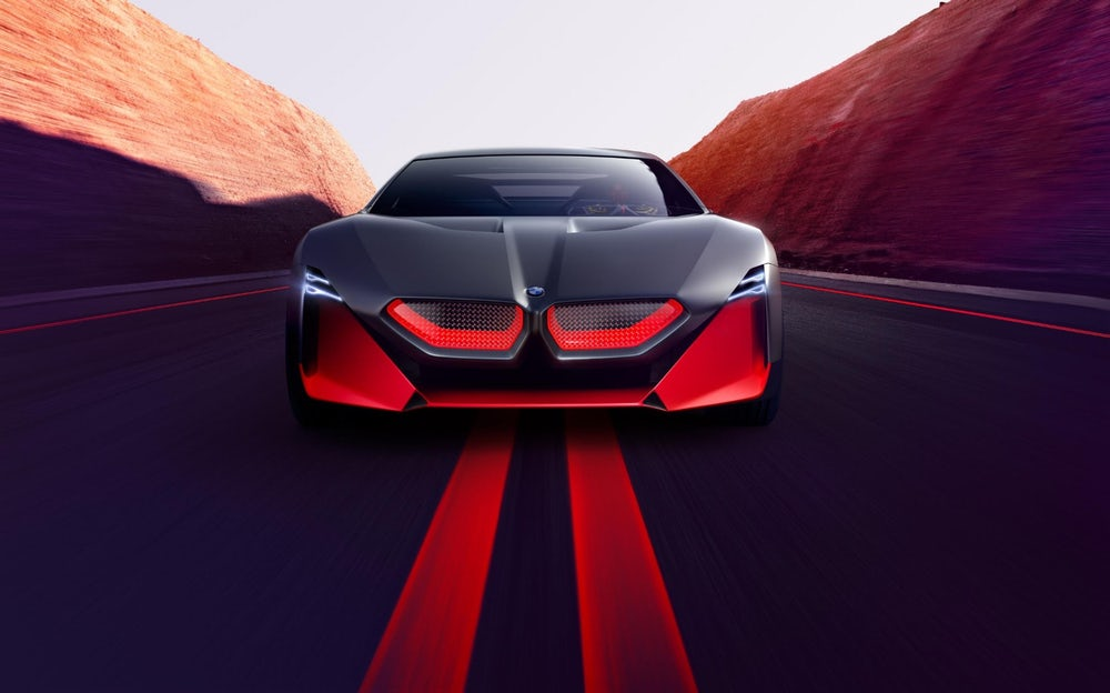 BMW Unveiled Its Latest Concept Car, BMW Vision M Next
