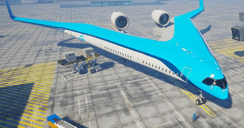 Flying-V By The KLM Airline Will Transform Air Travel For Ever!