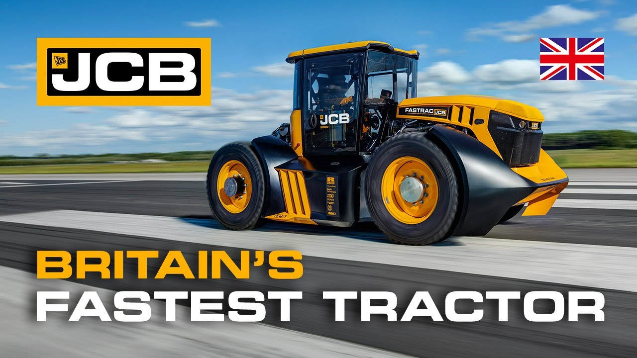 Fastest Tractor Record Set By JCB & Williams Advanced Engineering
