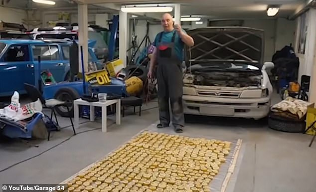 Garage 54 Uses Lemons For Trying To Start A Car