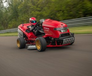 Honda's Mean Mower V2 Earns The Quickest Acceleration Title