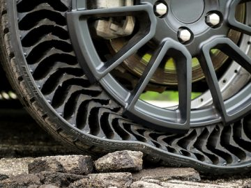 Uptis Is The Airless Tire Unveiled By Michelin And General Motors