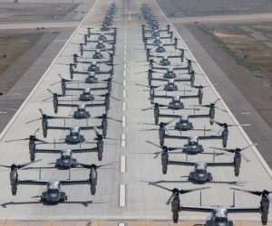 Witness The Elephant Walk Where 43 Marine Corps Aircraft Take Off!