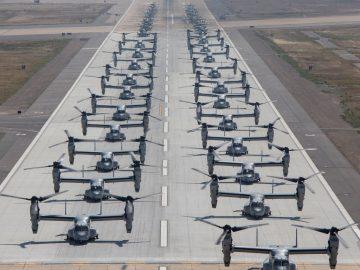 Witness The Elephant Walk Where 43 Marine Corps Aircraft Take Off!