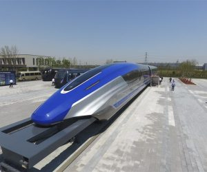 China's New Magnetic Levitation Train Will Travel At Speeds Of 370Mph