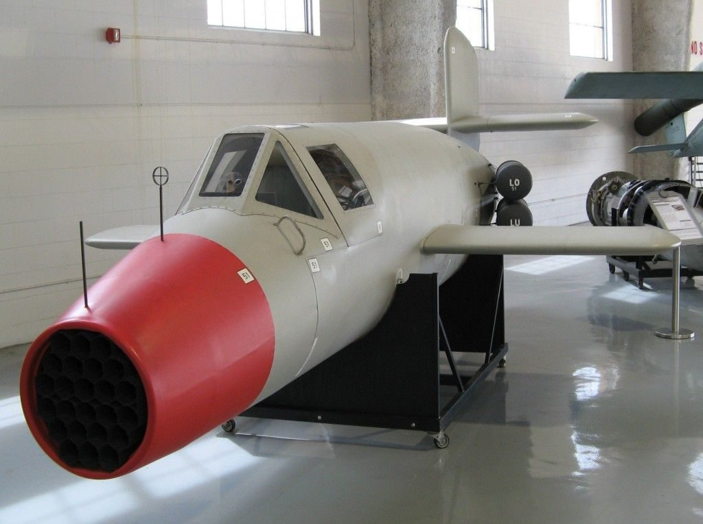 The Natter Was A Rocket-Based Wooden Aircraft By Germany