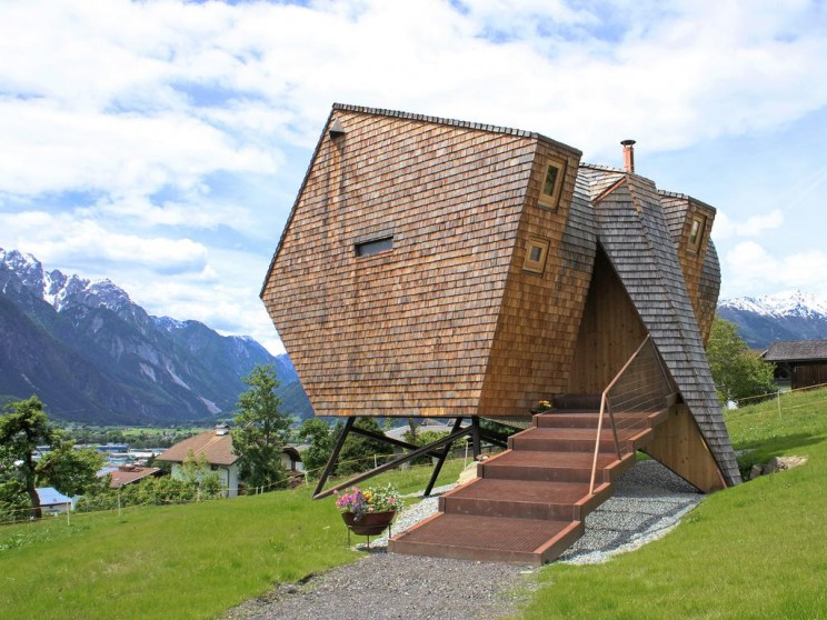 These Are Some Of The Most Unique & Smallest Houses In the World