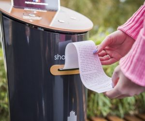 These Vending Machines Offer Free Short Stories To Commuters