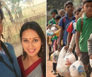 Akshar Foundation School In India Accepts Plastic Waste As Fee