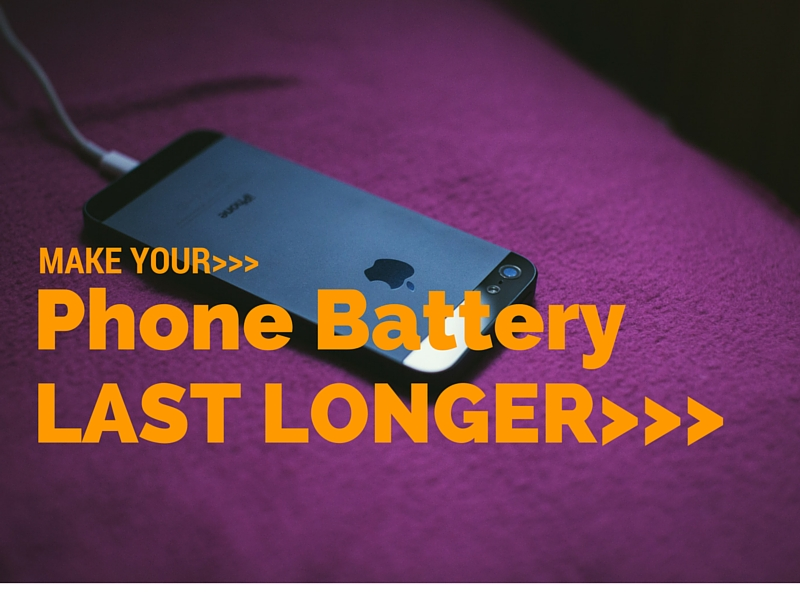 Learn How To Make Your Phone's Battery Last Longer