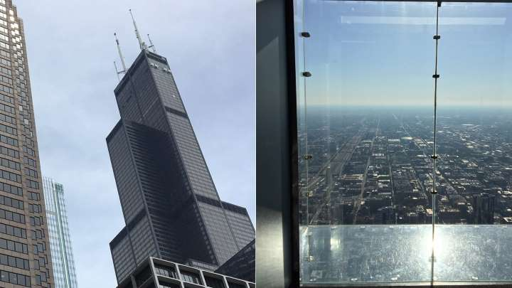 The SkyDeck Ledge Of The Willis Tower Cracked With Visitors Inside
