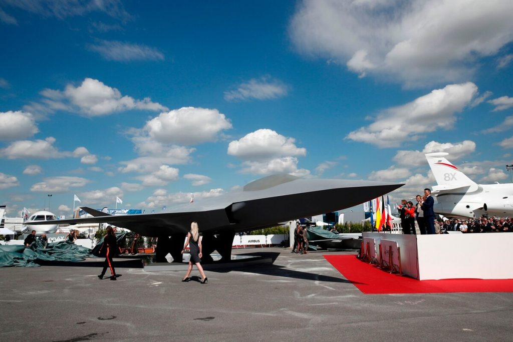 Dassault Has Unveiled The Future Combat Air System – 6Th Gen Fighter Jet
