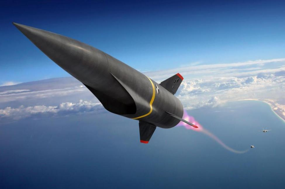 Hypersonic Missile, AGM-183A – Tested On A B-52 Bomber