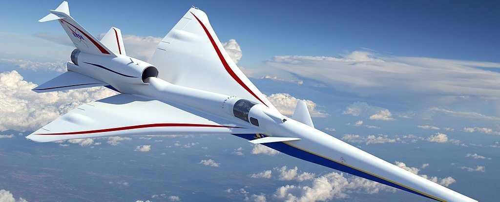 NASA's X-59 QueSST Aircraft Has A 4K Display Instead Of Front Window