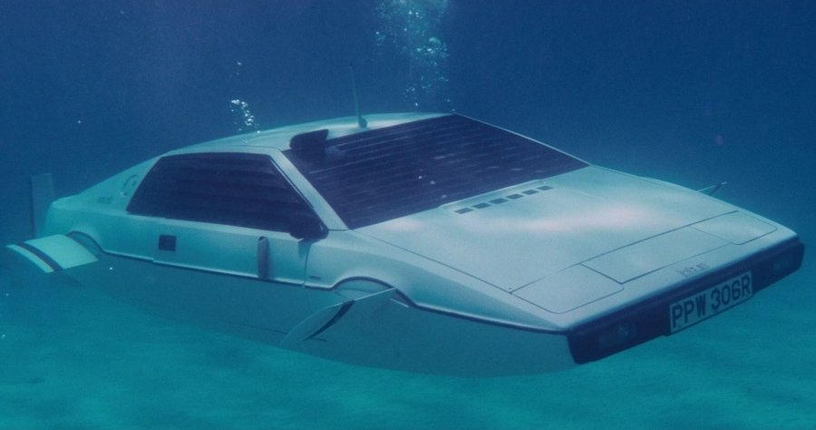 Tesla Did Indeed Design An Aquatic Car Inspired From James Bond